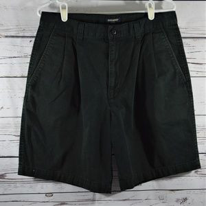 Mens Dockers Pleated Front Weathered Gab Shorts